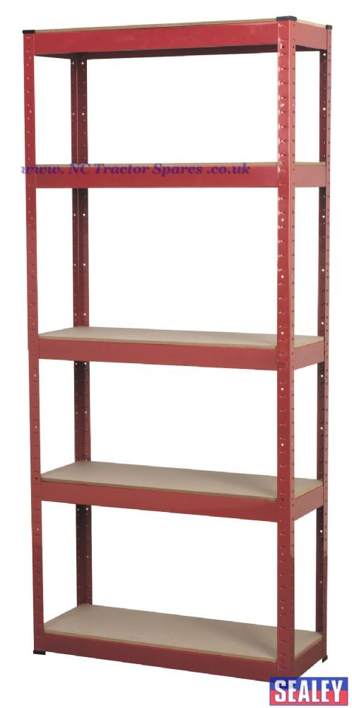 Racking Unit with 5 Shelves 150kg Capacity Per Level